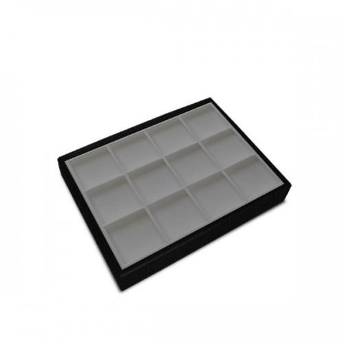 12 Divisions 70x70x15 Tray - Pluma