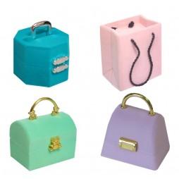 In.Bag Flock Jewellery Box