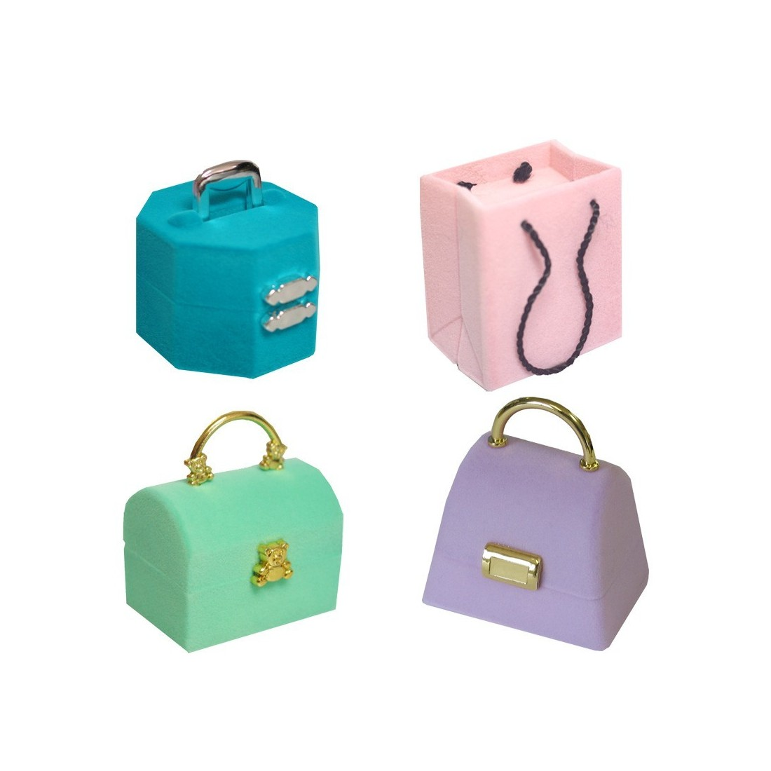 In.Bag Flock Jewellery Box