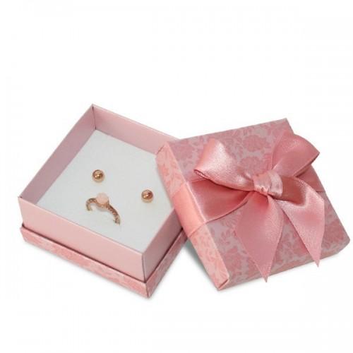 Cardboard Jewellery Box, Earrings and Neclace