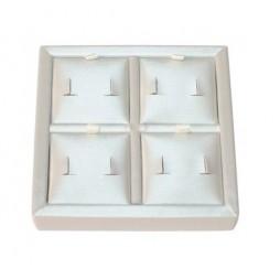 Four Inside Pads - 1 Omega Earrings