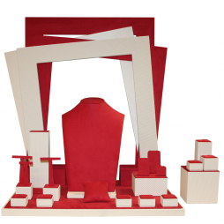 Shapes Display - Red