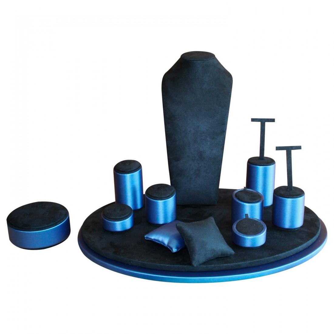 Escaparate Sfèric Oval (Azul)