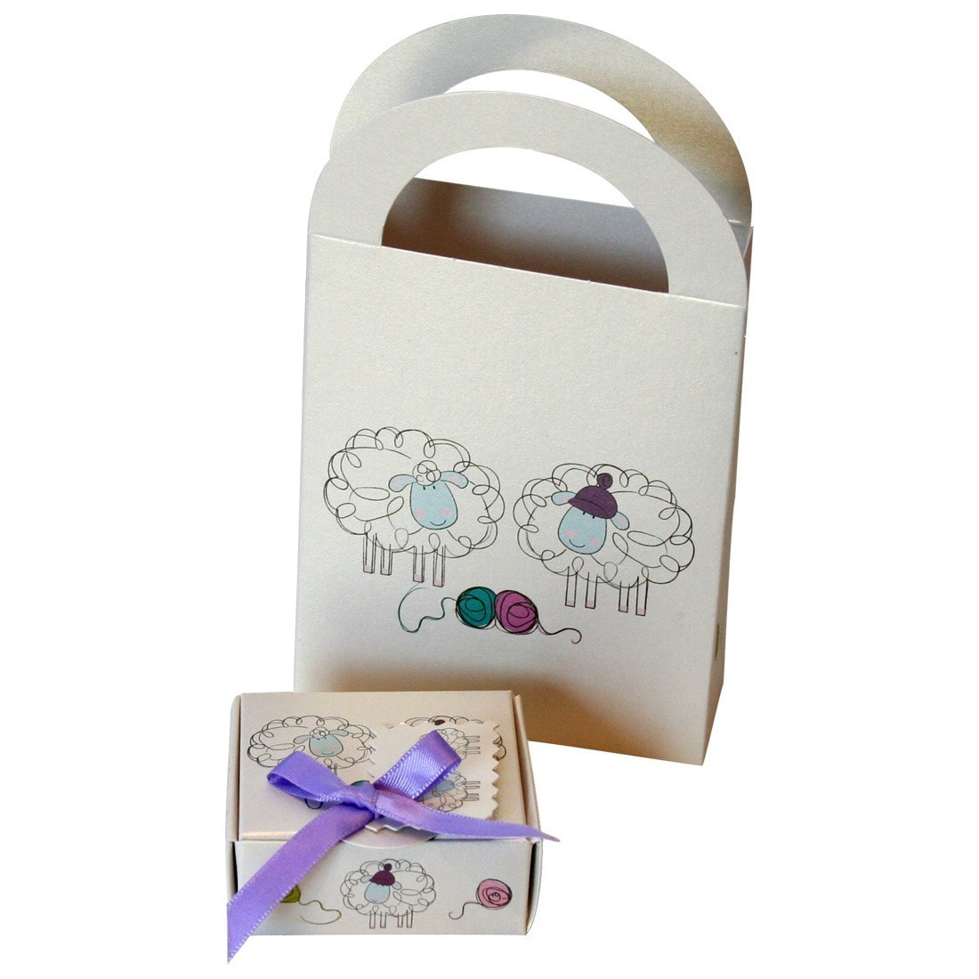 Kit Caja + Bolsa (Baby Mesh)