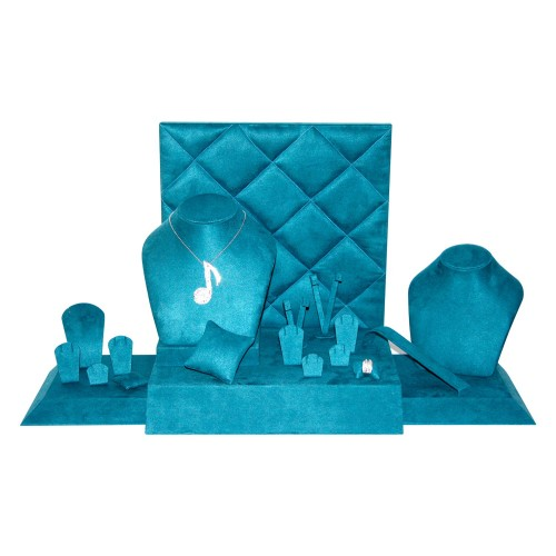 Jewelry display set - Blue
