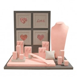 Jewelry display set, Love & Hearts