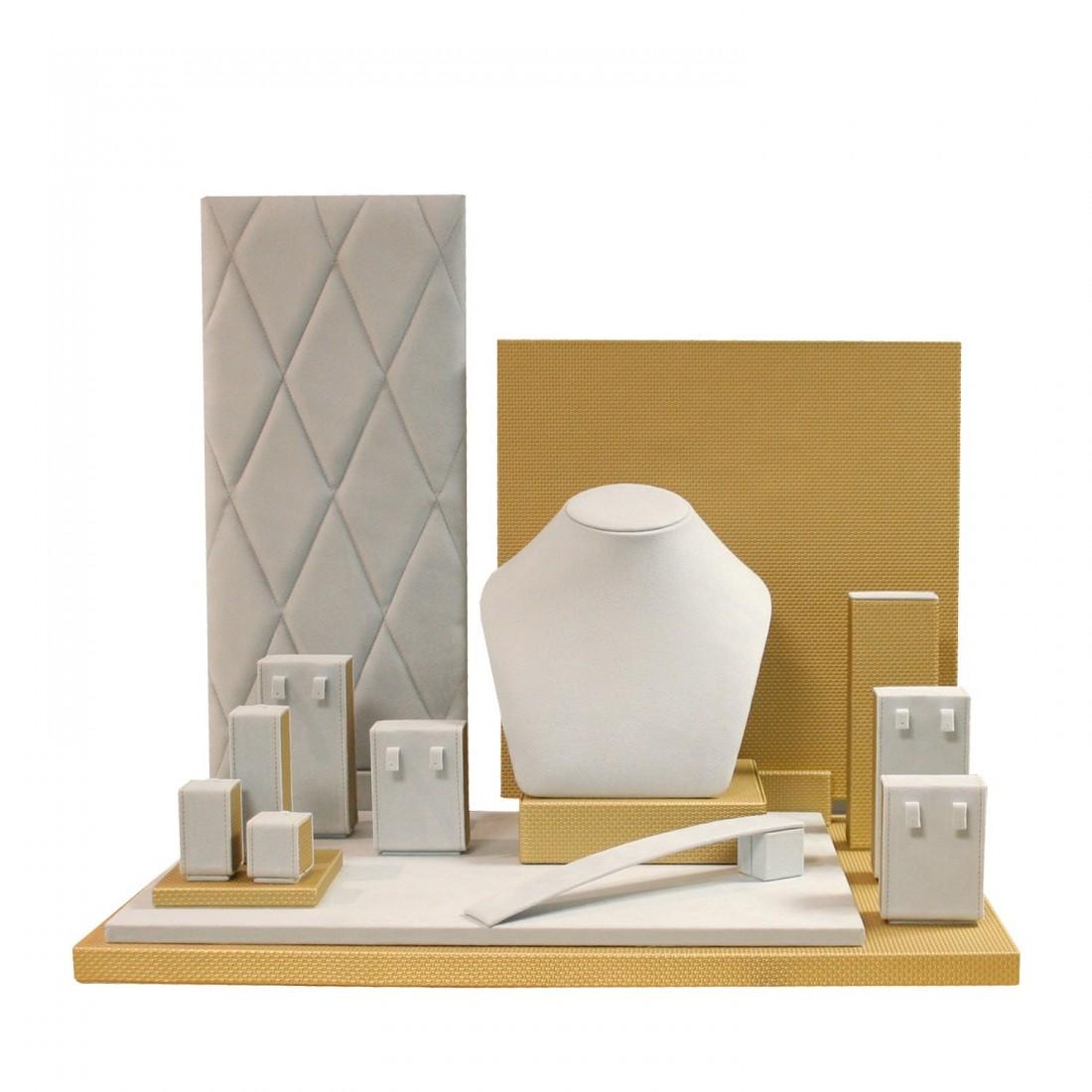 Jewelry display set, Spring Gold