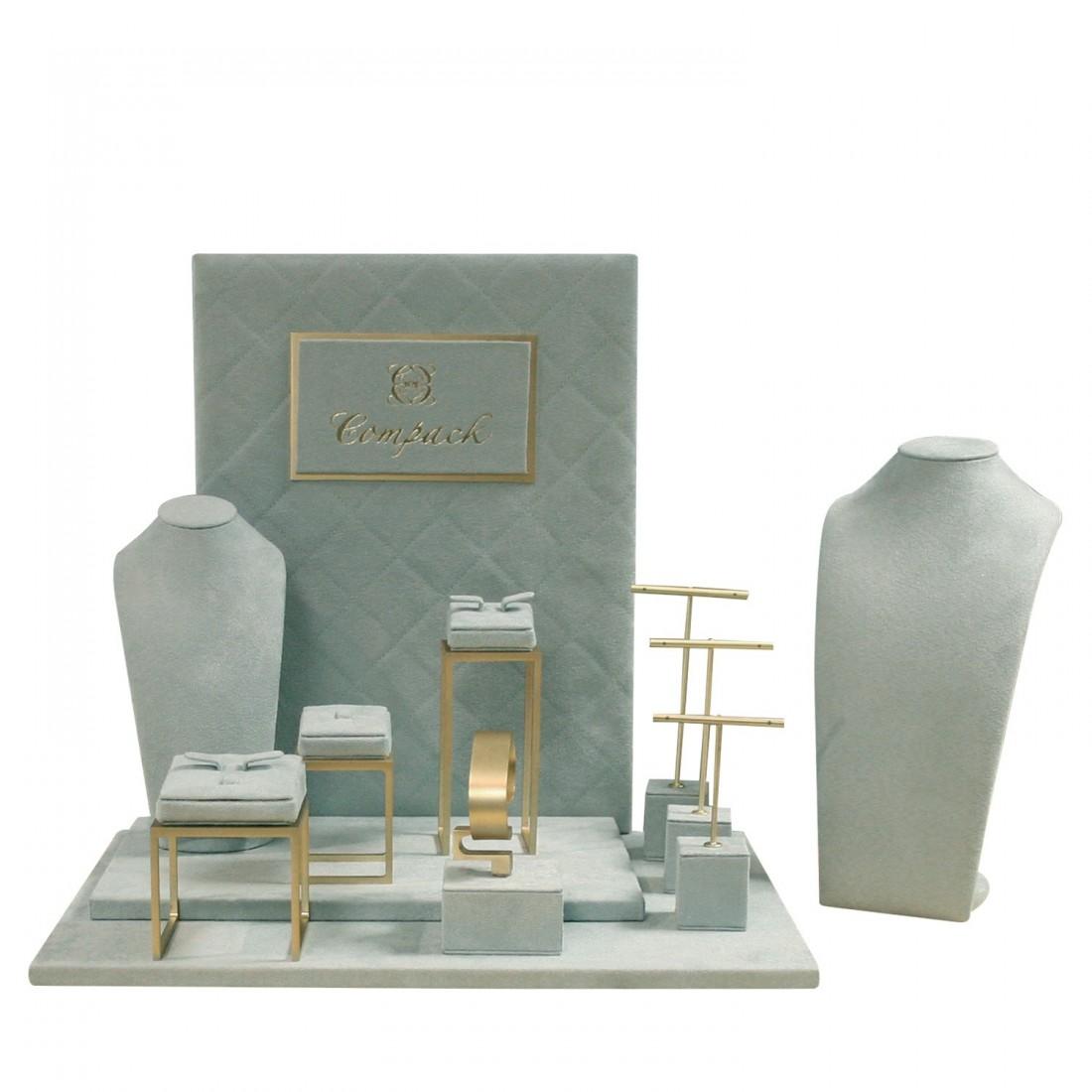 Jewelry display set, mini elite + 2 slim busts