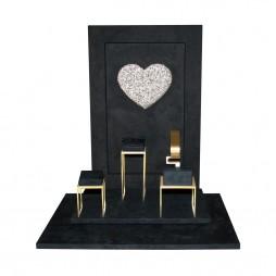 Shine jewelry display set