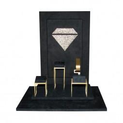 Jewelry displays set, diamond
