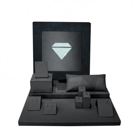 Caja Glitter - Set Collar Multiuso