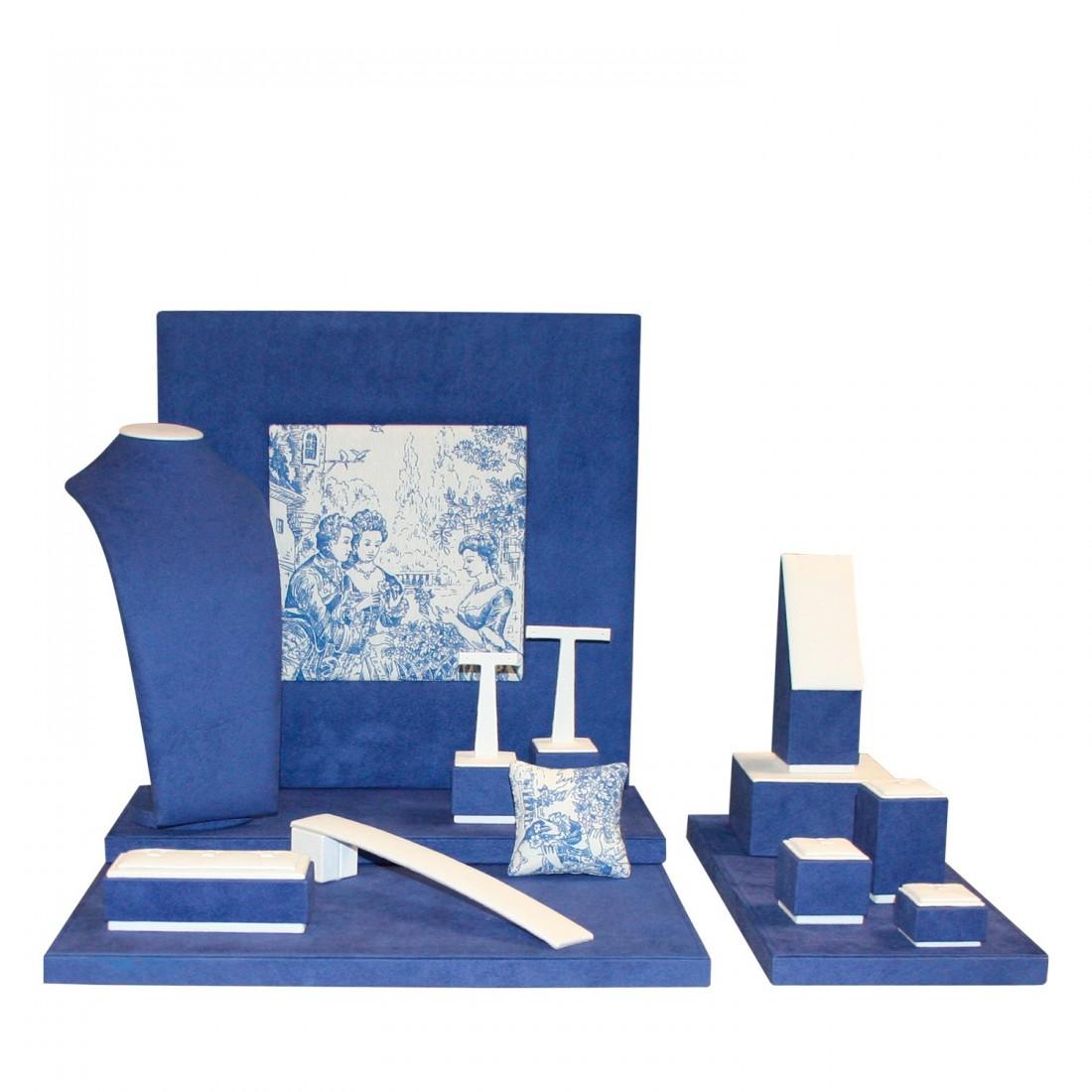 Jewelry display set, Venezia Blue