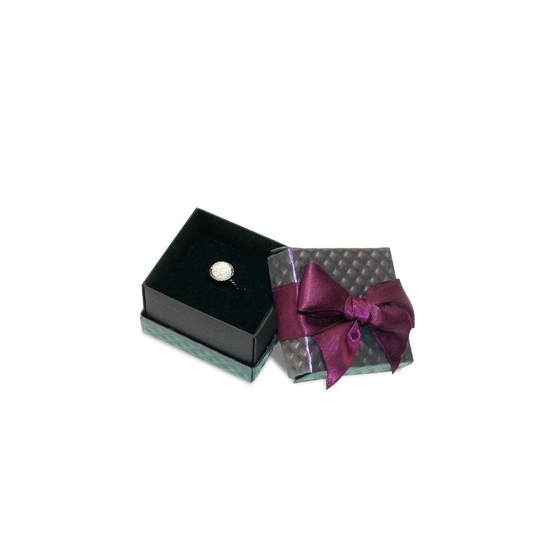 Caja de cartón para anillo