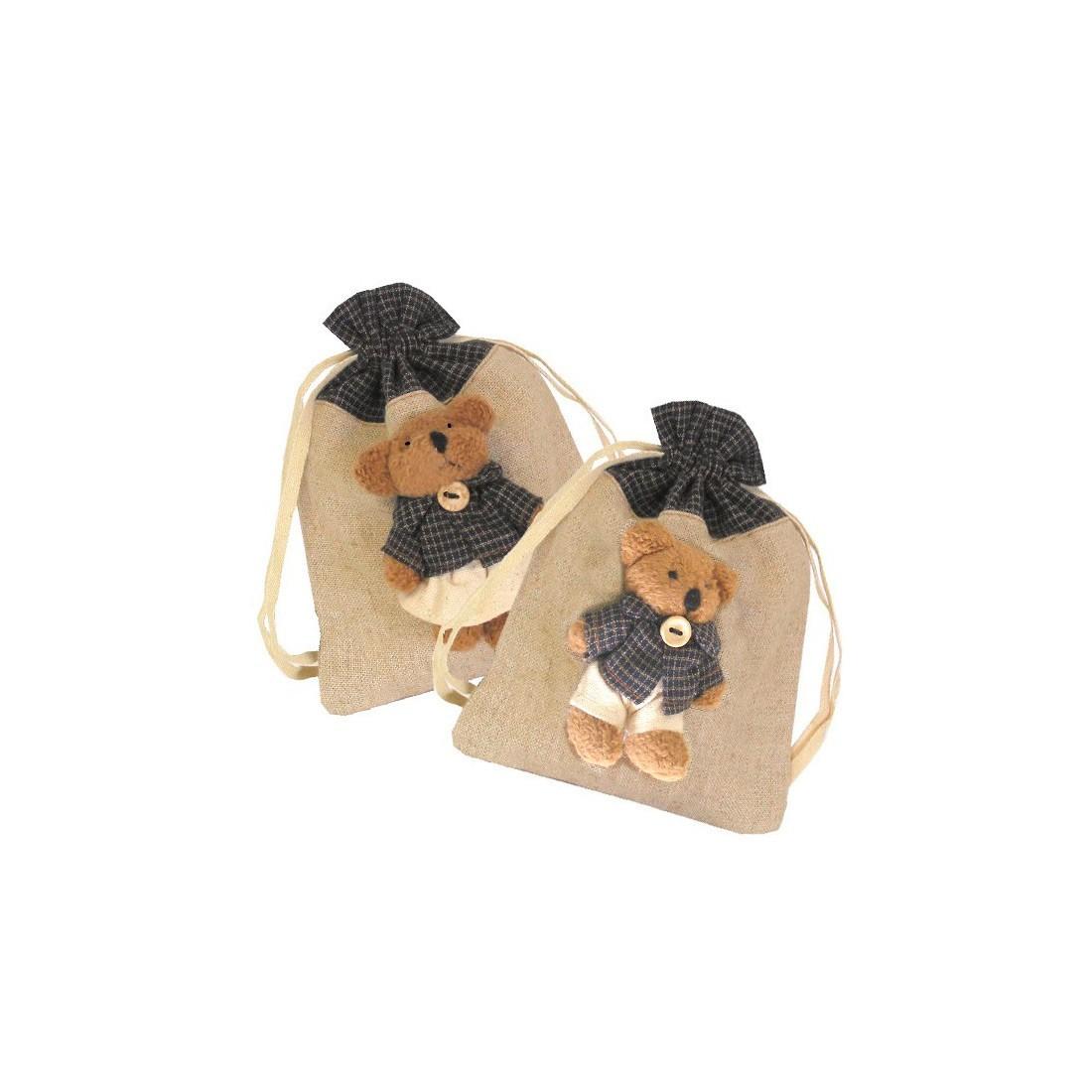 Raffia pouches for children