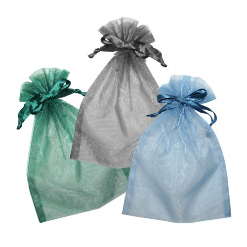 Organza pouches for jewels and costume jewellery