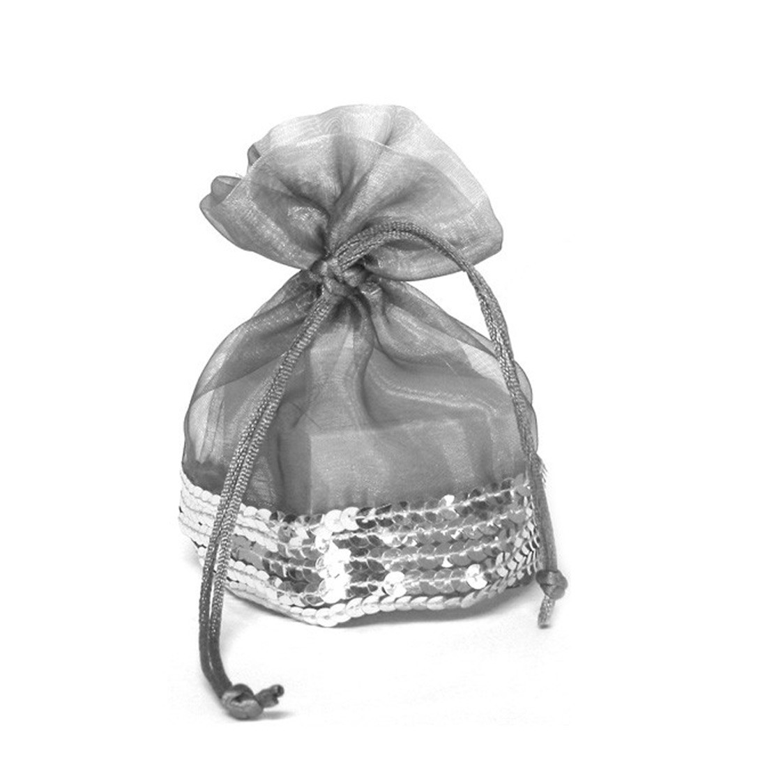Drawstring pouch for jewels and costume jewellery
