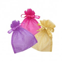 Organza pouch for jewels and costume jewellery
