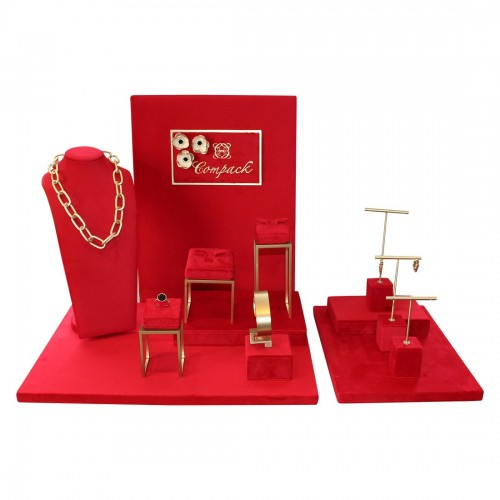 Jewelry display set - Elite Velvet Luxe
