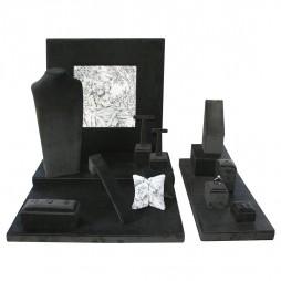 Jewelry display set, black