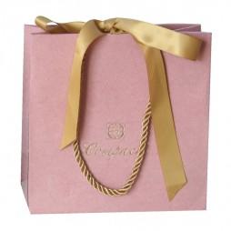 Velvet jewellery bag, pink