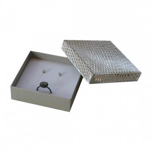 Cardboard Ring and earrings box Shine, Compack