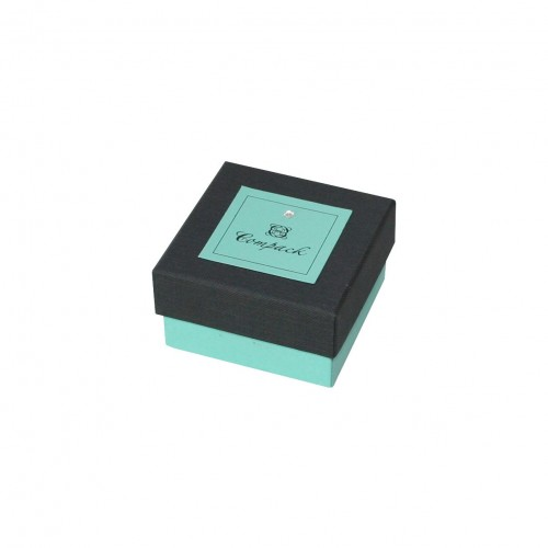 Caja de cartón para anillo o pendientes, multiuso