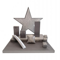 Jewellery display set - Stars Satin Luxe