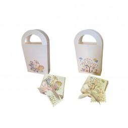 Kit Caja + Bolsa Animals Jungle