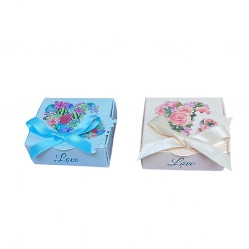Love Box Floral Heard