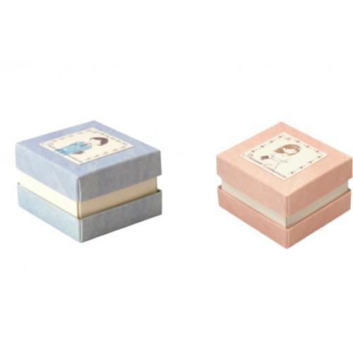 Children's Communion Box Boy & Girl Marble
