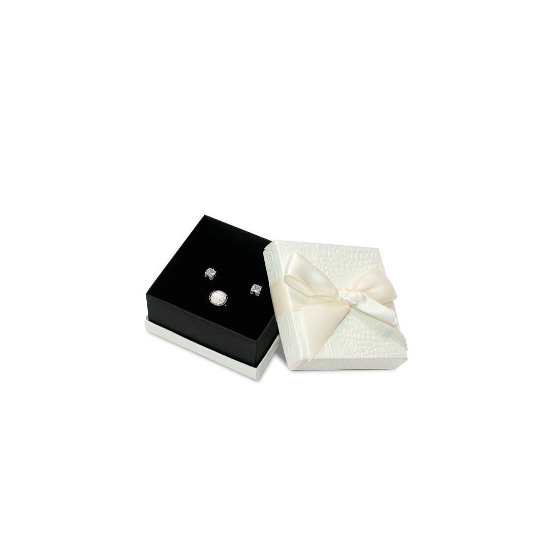 Caja de cartón para juego de joyería