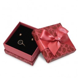 Spring Garden Printed Florencia Jewellery Box, Earrings and Necklace