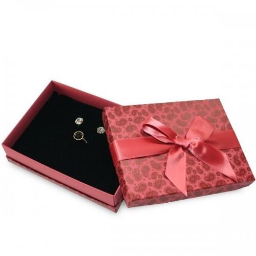Spring Garden Printed Florencia Jewellery Box, Necklace