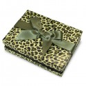 Leopard Printed Florencia Jewellery Box, Necklace