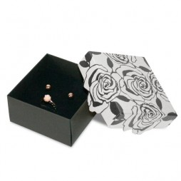 Box Necklace and Earrings