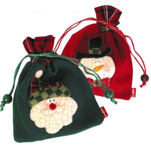 Bolsas Fantasía Navidad - Med