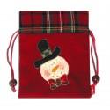 Bolsas Navidad Santa Claus Cascabel