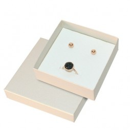 Cordoba Metallic Jewellery Box, Earrings and Necklace
