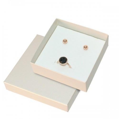 Cordoba Metallic Jewellery Box, Earrings and Necklace