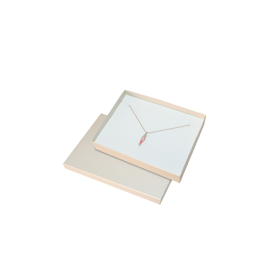 Cordoba Metallic Jewellery Box, Necklace