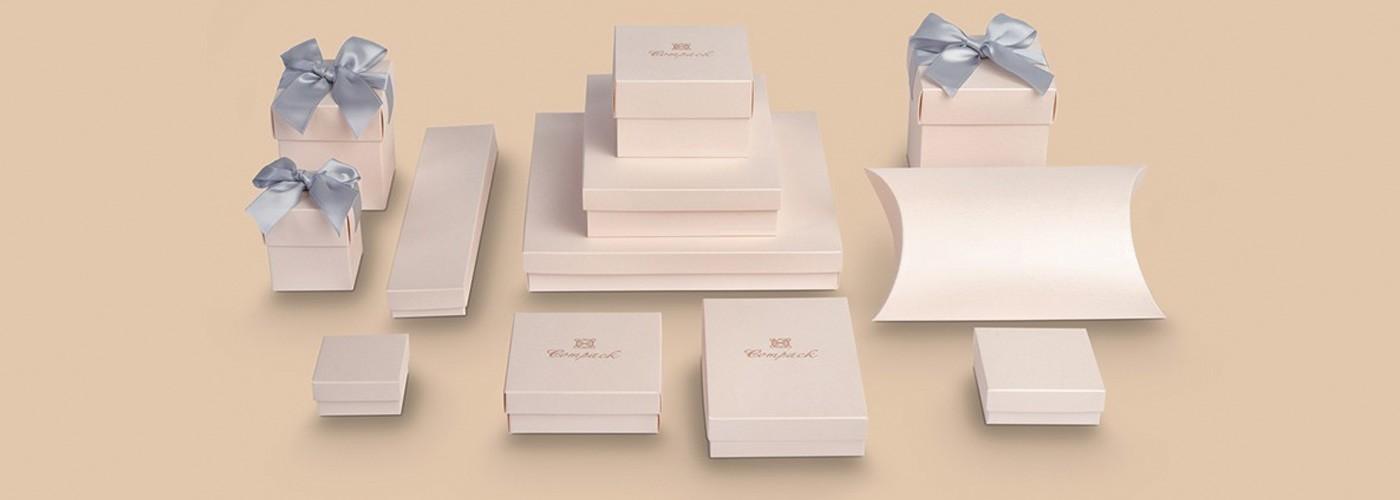 Comprar cajas de cartón para bisutería o joyería ★ Pack