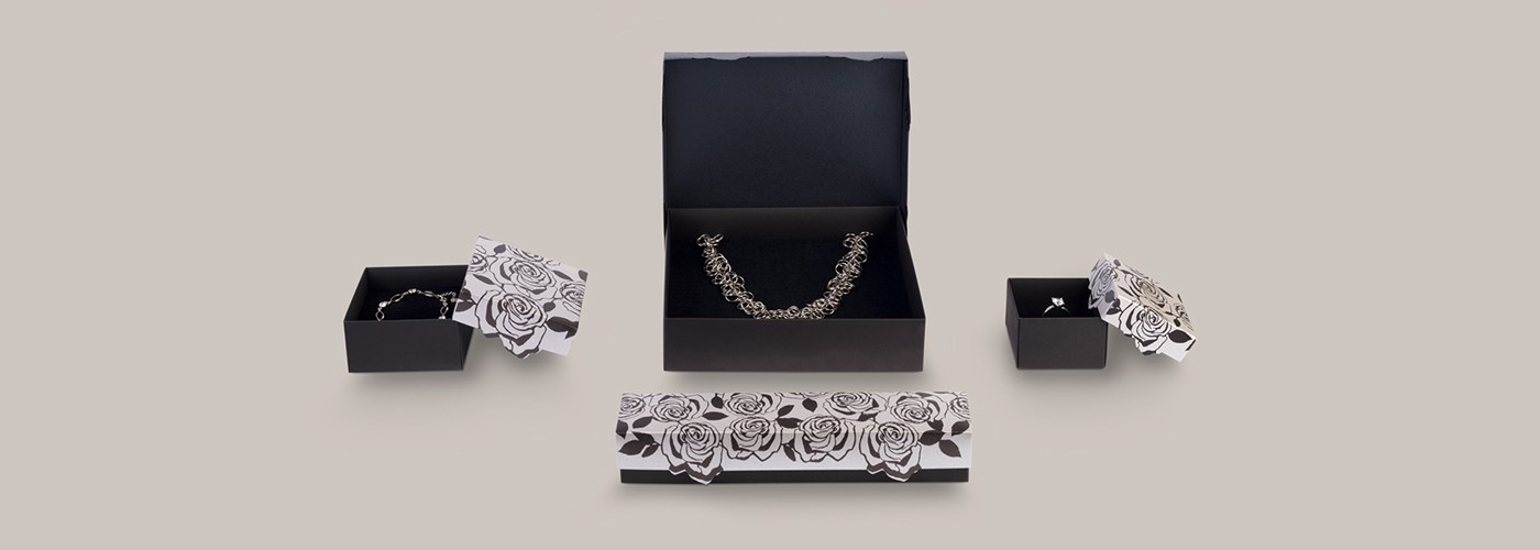 Comprar cajas de cartón para joyas ★ Gift Rose