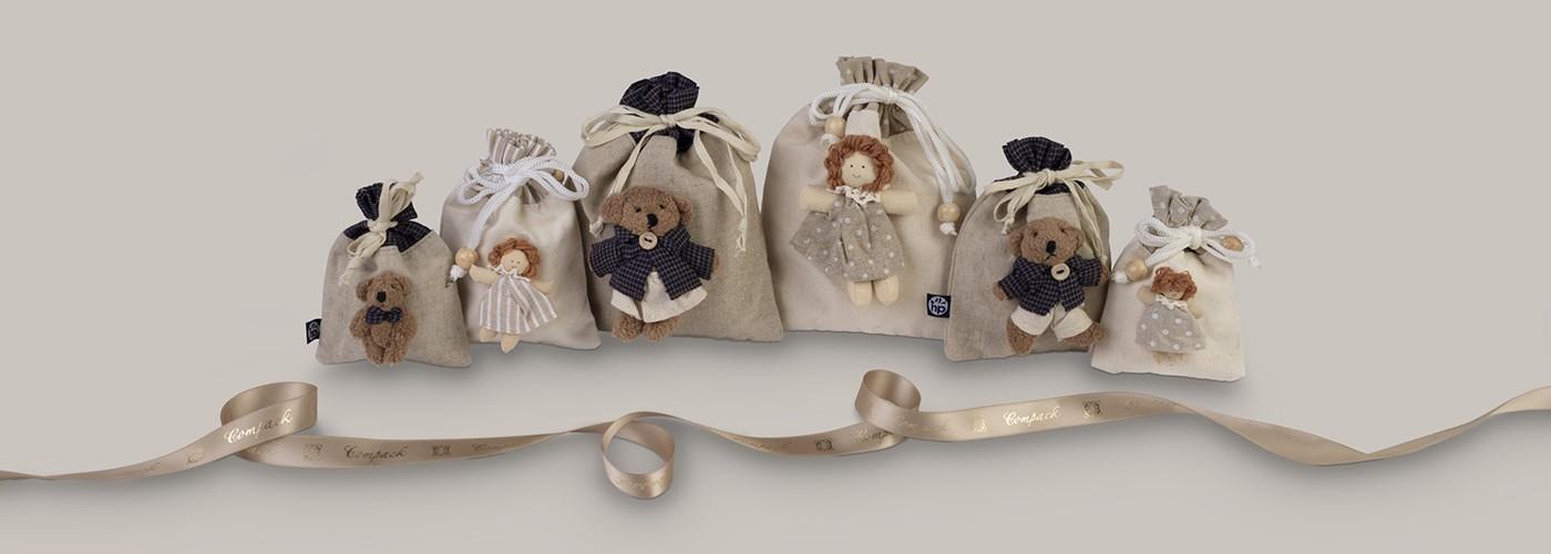 Bolsas para joyería infantil