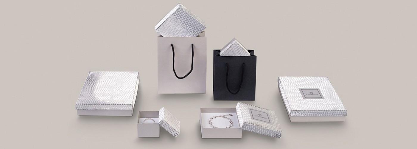 Comprar cajas de cartón brillante para joyas ★ Shine Metallic