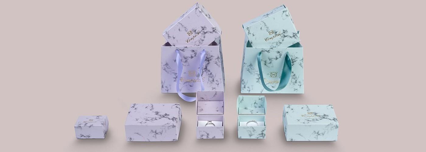 Comprar estuches de cartón para joyería y bisutería ★ Pack