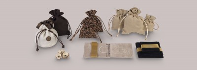 Suede Jewellery Pouches