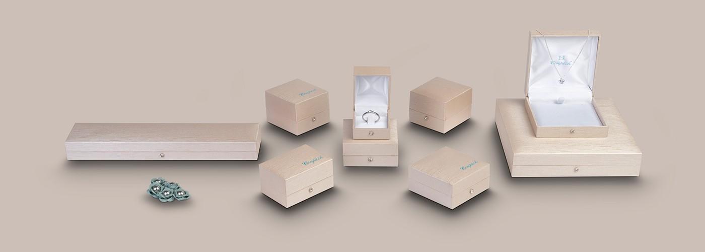 Jewellery boxes - Venezia series. Compack