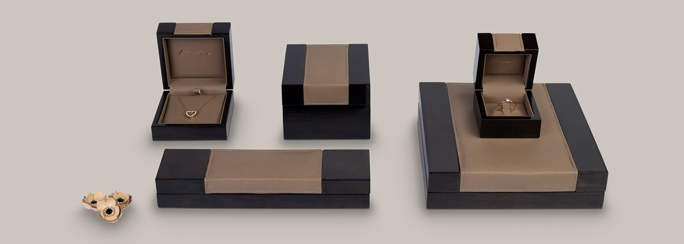 Jewellery boxes. Luxury wooden boxes