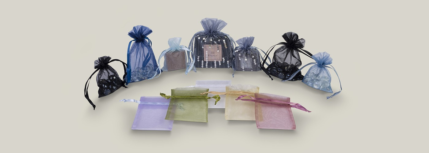 Bolsitas de organza para joyería y regalos
