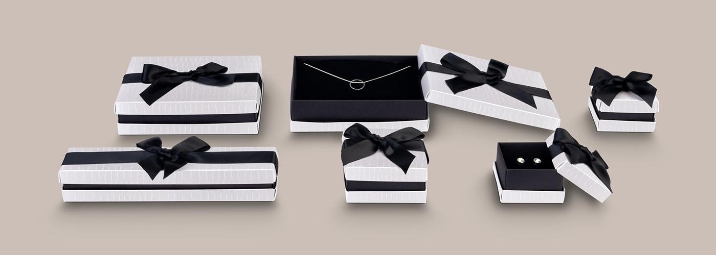 Cajas de cartón para joyería ★ Florencia Gofrada